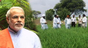 narendra modi Man ki Baat farmers Land Bill