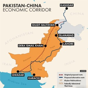 China- Pakistan economic corridor (CPEC) project