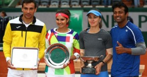 Martina Hingis and Leander Paes wins french open mixed doubles 2016
