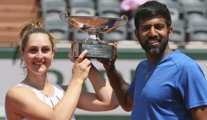 Bopanna Gabriela win French Open mixed doubles 2017