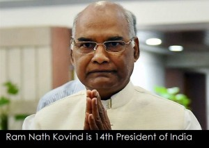 Ram Nath Kovind is 14th President of India