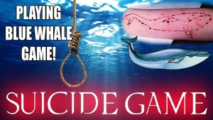 blue whale challenged game