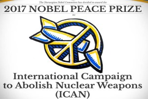 ICAN is Nobel Peace Prize 2017 Winner