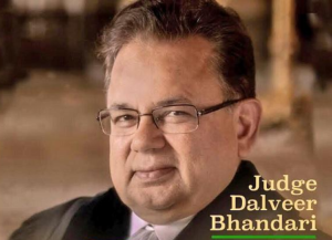 Dalveer Bhandari ICJ Judge India