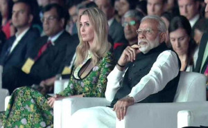 PM Modi trump inaugurate Global Entrepreneurship Summit in Hyderabad
