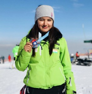 Anchal Thakur becomes first Indian to win an international medal in skiing