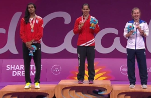 Saina Nehwal wins Gold CWG2018