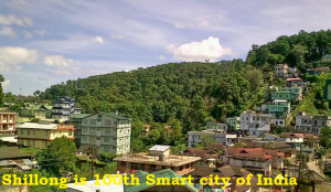 shillong 100th smart city of india